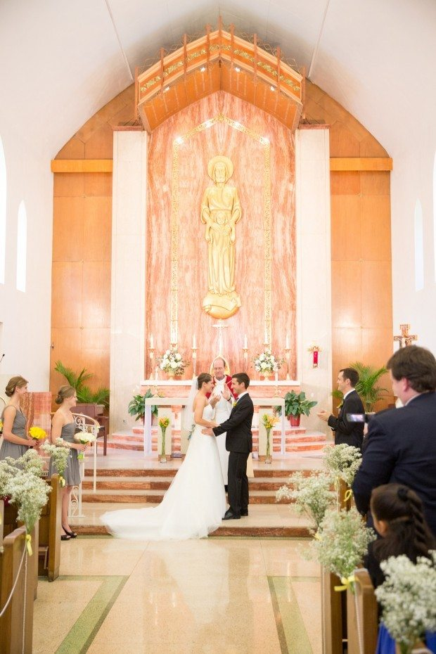Northern Colorado Church Wedding
