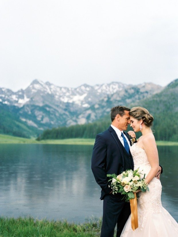 Colorado lake wedding venue