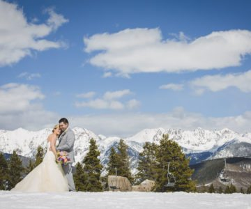 Elegant Mountain Top Wedding
