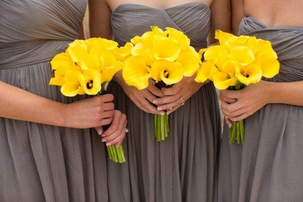 Yellow Wedding Flower