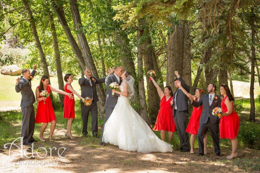 Estes Park daytime wedding