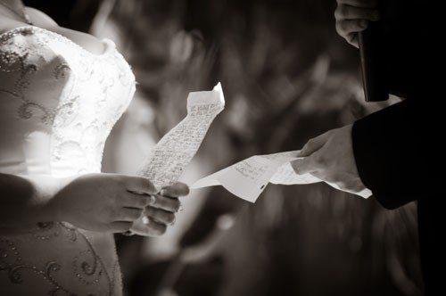 Colorado Wedding Vows