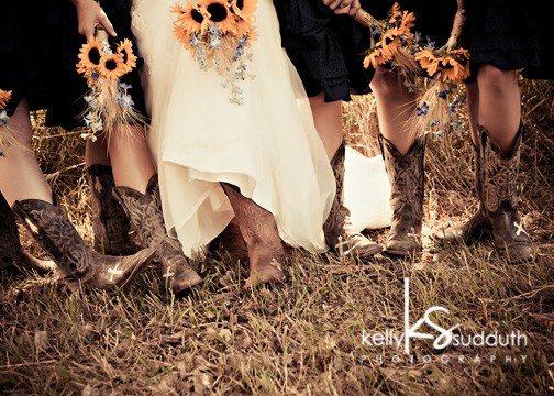 Bridesmaid Cowboy boots