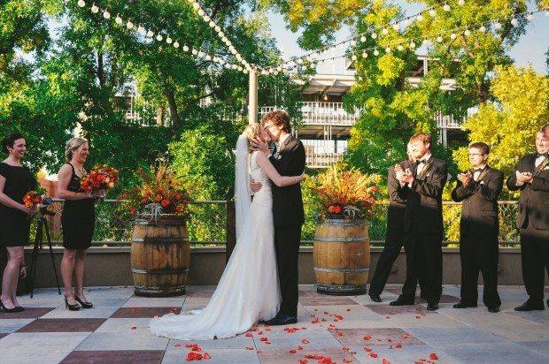 Colorado Fall Wedding Ceremony