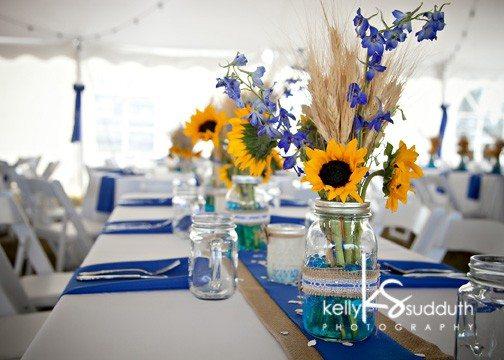 Wedding with Sunflowers