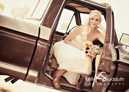 rustic country wedding in
