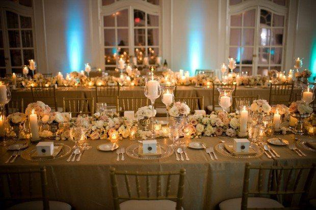 Gold Wedding Decor