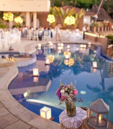 Floating Wedding Lanterns