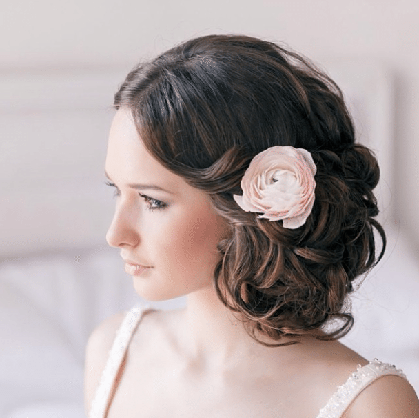 Medium Wedding Hair