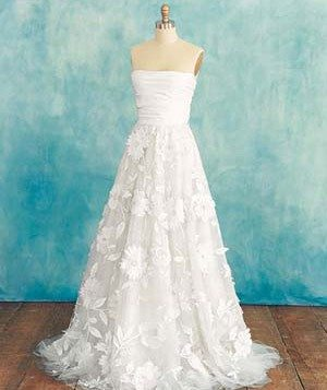 Wedding Dress for Small Busts