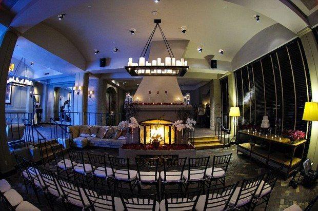 Indoor Wedding Ceremony Colorado
