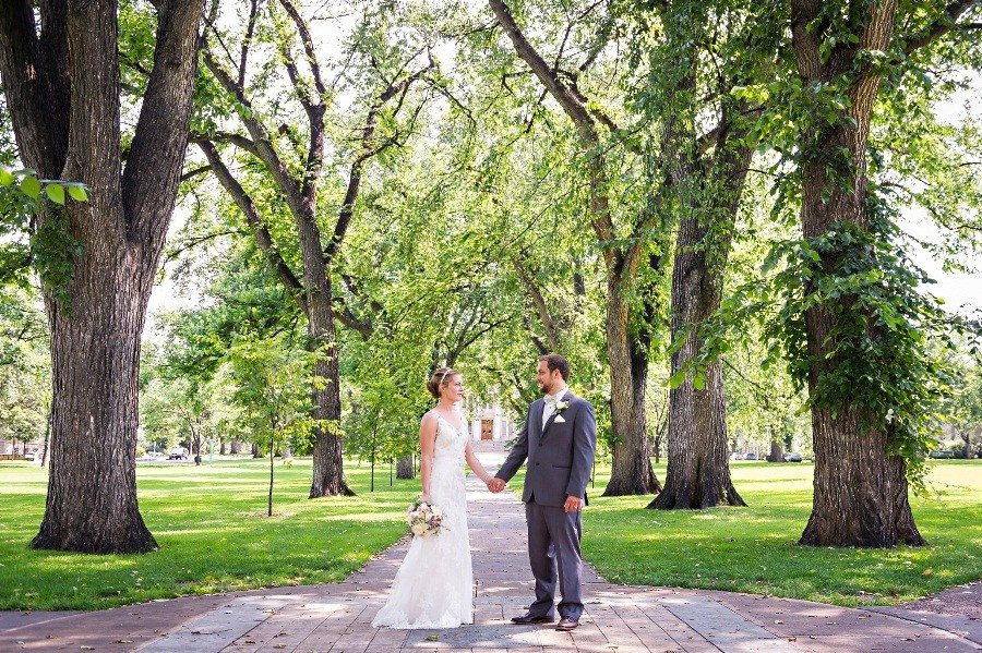 Relaxed And Simple Outdoor Wedding- Fort Collins