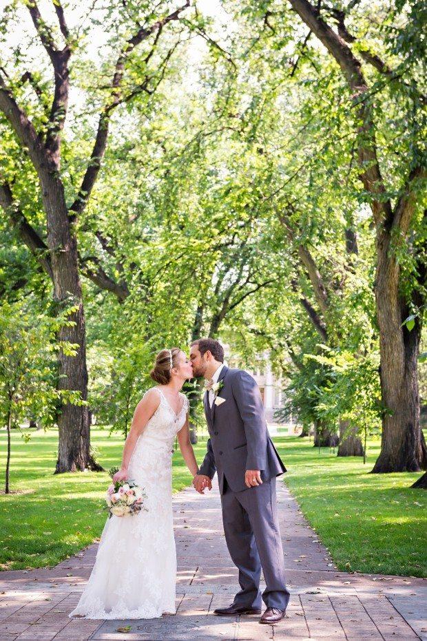 The Oval CSU Wedding
