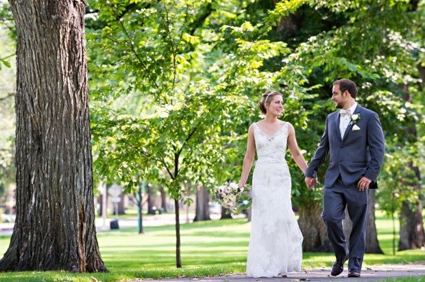 CSU Oval Wedding