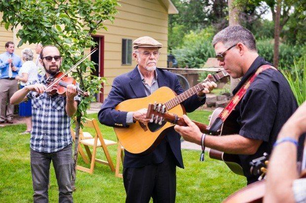 Bluegrass Band fort collins wedding