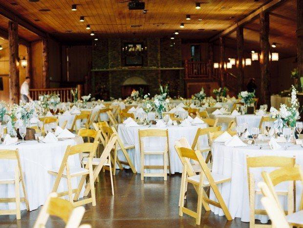 Vintage mountain wedding