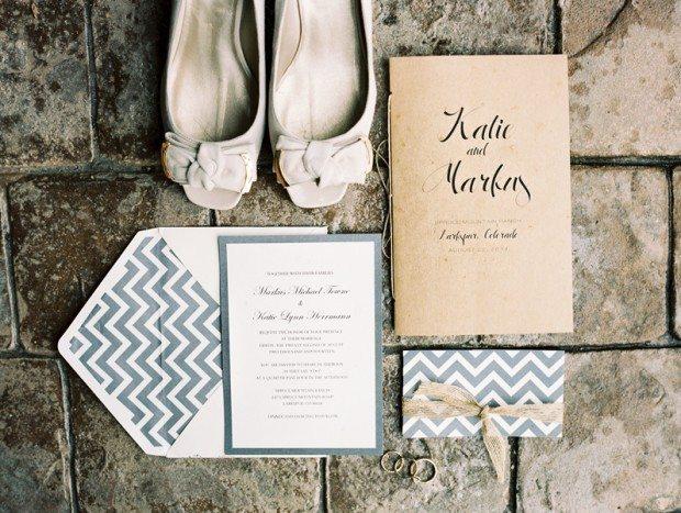 colorado vintage wedding
