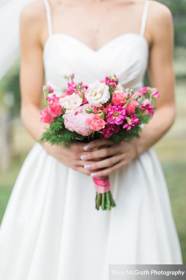 pink wedding colorado