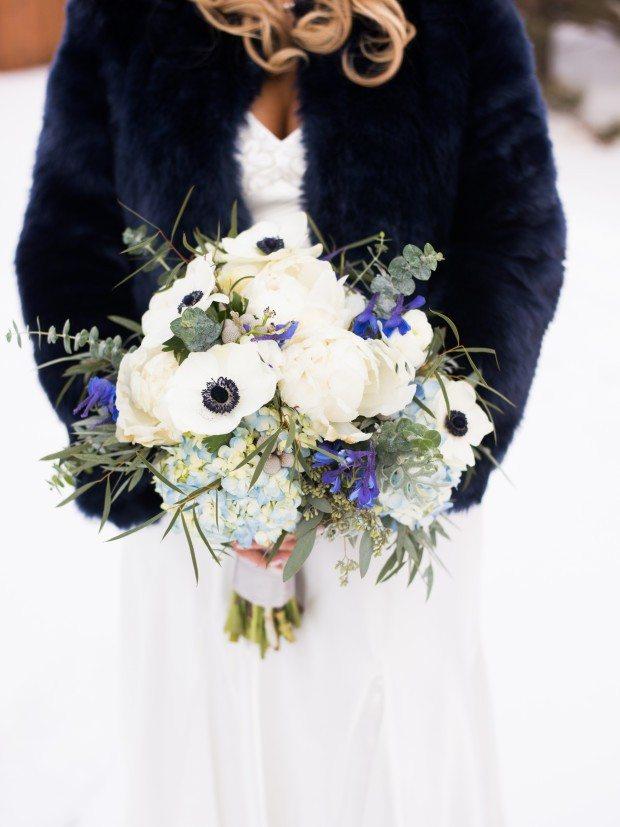 Wyoming winter wedding