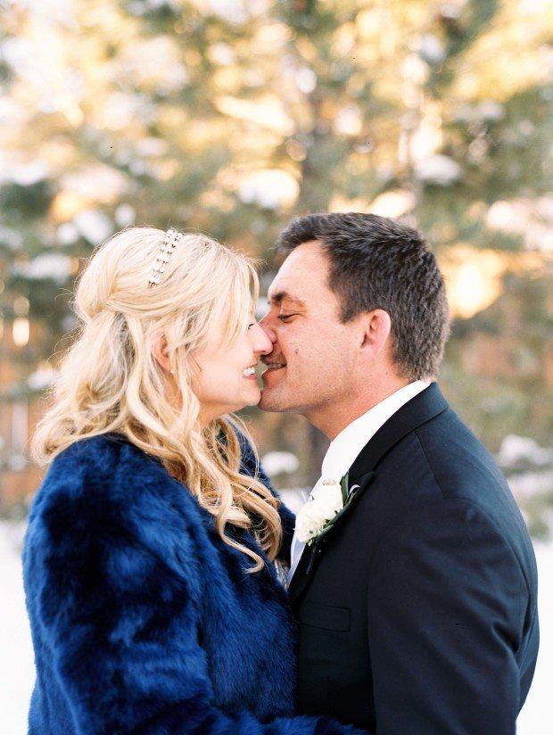 cheyenne winter wedding