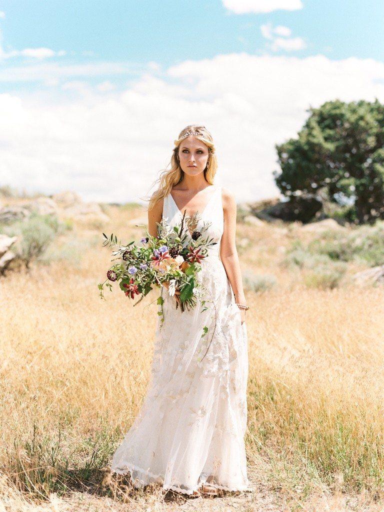 Boho Wedding At Brush Creek Ranch Pink Diamond Events