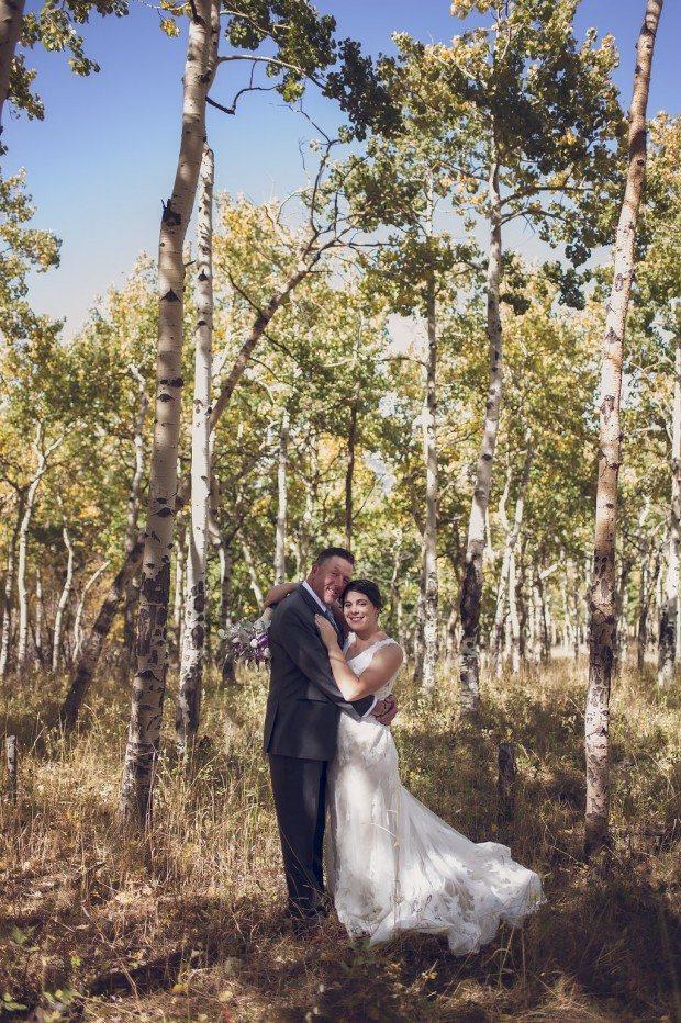 Estes Park outdoor Wedding