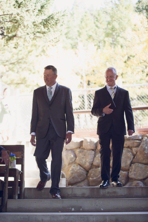 Estes park rustic wedding