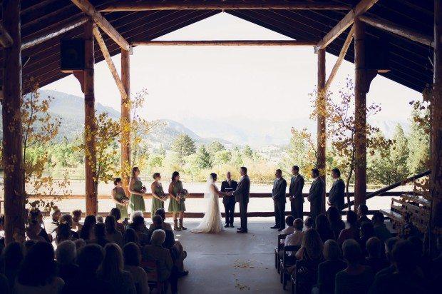 Simple wedding estes park