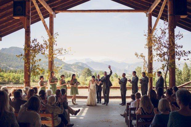 Estes park wedding venue