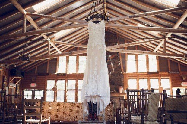 Wedding ceremony Estes Park
